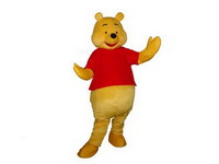 Good Visual Winnie the Pooh Mascot Costume for Adults