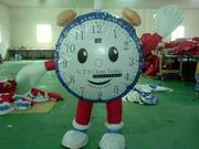 Inflatable Clock Moving Cartoon MOV-1046