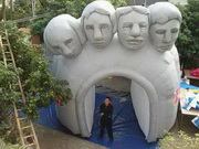 Inflatable Rushmore Sports Tunnel
