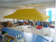Yellow POP UP Tent 3m by 6m without Side Pannels