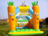 Festival Baby Rabbit Inflatable Jumping Castle Combo