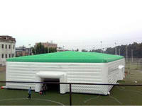 Outdoor Huge Inflatable Cube Tent for Supermarket