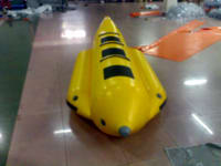 Commercial Grade Economical Single Tube Inflatable Banana Boat for 3 Passengers