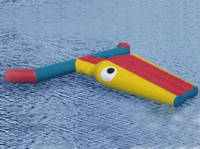 Commercial Grade Inflatable Water Fish for Kids Water Park