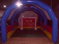 Custom Inflatable Soccer Goal for Adults Water Park
