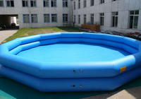 Dual Tubes Inflatable Pool Game for Water Roller Sports
