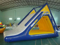 Great Fun Inflatable Water Trampoline Slide for Sale