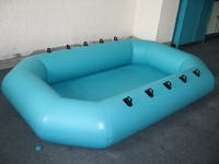 Commercial 0.6mm PVC Tarpaulin Inflatable Swimming Pool for Kids