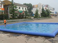 Commercial High Quality Big Square Inflatable Pool for Sale