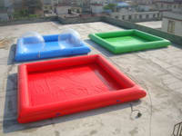 Good Quality Single Color Inflatable Pool for water ball Sports