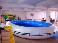 High Quality CE Approval Inflatable Pool with crash Strips
