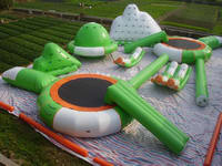 Aqua Green Standard Inflatable Water Trampoline Park