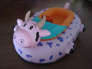 Animal Bumper Boat Inflatable Cow Bumper Boat