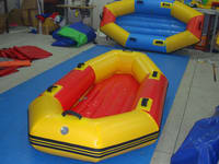 Commercial Grade Reinforced Inflatable Rafting Boats for sale
