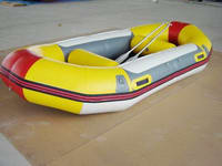 Hot Sales 2 Seats Inflatable Rafting Boats with air deck floor