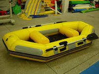 New Design Yellow and Gray Inflatable Rafting Boat for Sale