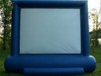 Customized Design 16x9 Inflatable Movie Screen for Sale