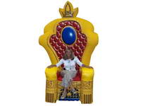 Custom Made Inflatable King Chair for Israel