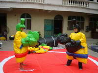 High Quality Durable PVC Tarpaulin Adults and Teens Sumo Suits