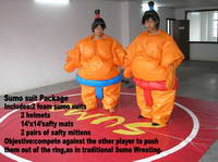 Quality PVC Adults Sumo Wrestling Suits