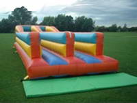 Excellent Double Lane Inflatable Bungee Run for Party Rentals