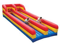 Most Popular Double Lane Inflatable Bungee Run for School Competition
