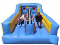 Custom Made Double Lane Inflatable Bungee Run for Events