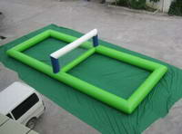 High Dentsity Air Sealed Inflatable Volleyball Playgound for Kids