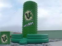Customized Challenging Vertical Inflatable Rock Climbing Wall for Sale