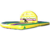 Commercial CE Approval Touchdown Sports Challenge Inflatable Game for Sale