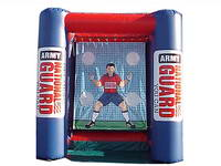Logos Printing Inflatable Goal Kick Game