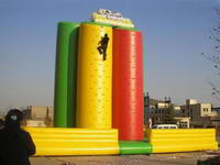 Giant 5 Pillars Inflatable Rocking Wall  for Kids and Adults