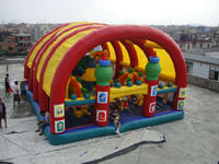 Commercial Grade Disney Inflatable Playground for Amusement Park