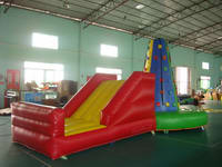 2 In 1 Kids Inflatable Rock Climbing Wall