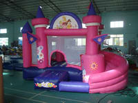 Backyard Mini Castles Inflatable Princess Bouncer