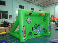 New Design Inflatable Soccer Kick Game