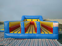 New Arrival CE Certificate Three Lane Inflatable Bungee Run for Sale