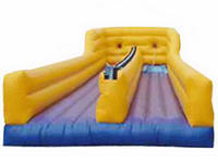 Great Fun Inflatable Bungee Run with Harnesses and Bungee Cords