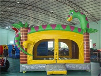 Inflatable Dinosaur Themed Jumping Bounce Castle