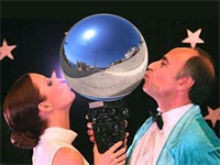 Silver Inflatable Mirror Ball Reflection Ball for Party
