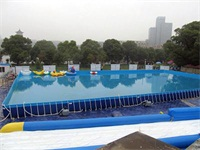 Great Fun Metal Frame Swimming Pool with Fliter Pumps