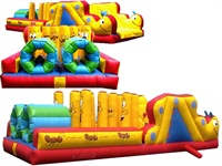 The Phoenix Character Inflatable Obstacle Course Race