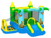 Tiger Bouncy Castle Funland