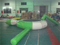 17 Foot Inflatable Water Trampoline Combos for Wholesale