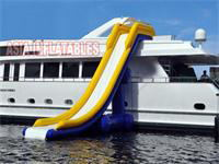20 Foot Inflatable Yacht Slides