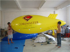 Multi-color Printing Yellow Blimp