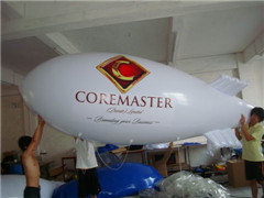 Custom White Inflatable Blimp