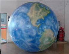 Fun Color Printing Dia 2m Helium Earth Balloon for Sale