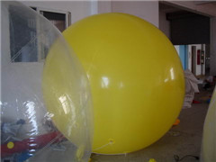 Dia 2m Yellow Round Balloon