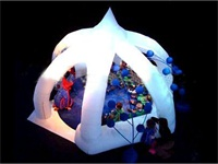 New Arrival LED Lights Tent Inflatable Lighting Tent for Events